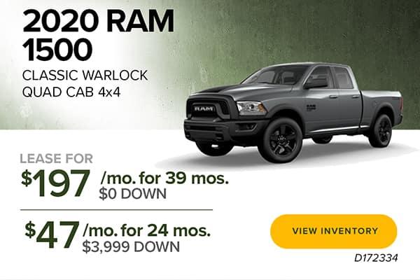 2020 Ram 1500 Classic Warlock QuadCab 4x4