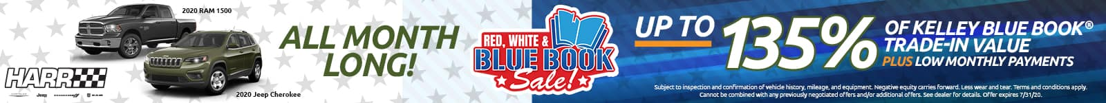 Red White & Bluebook