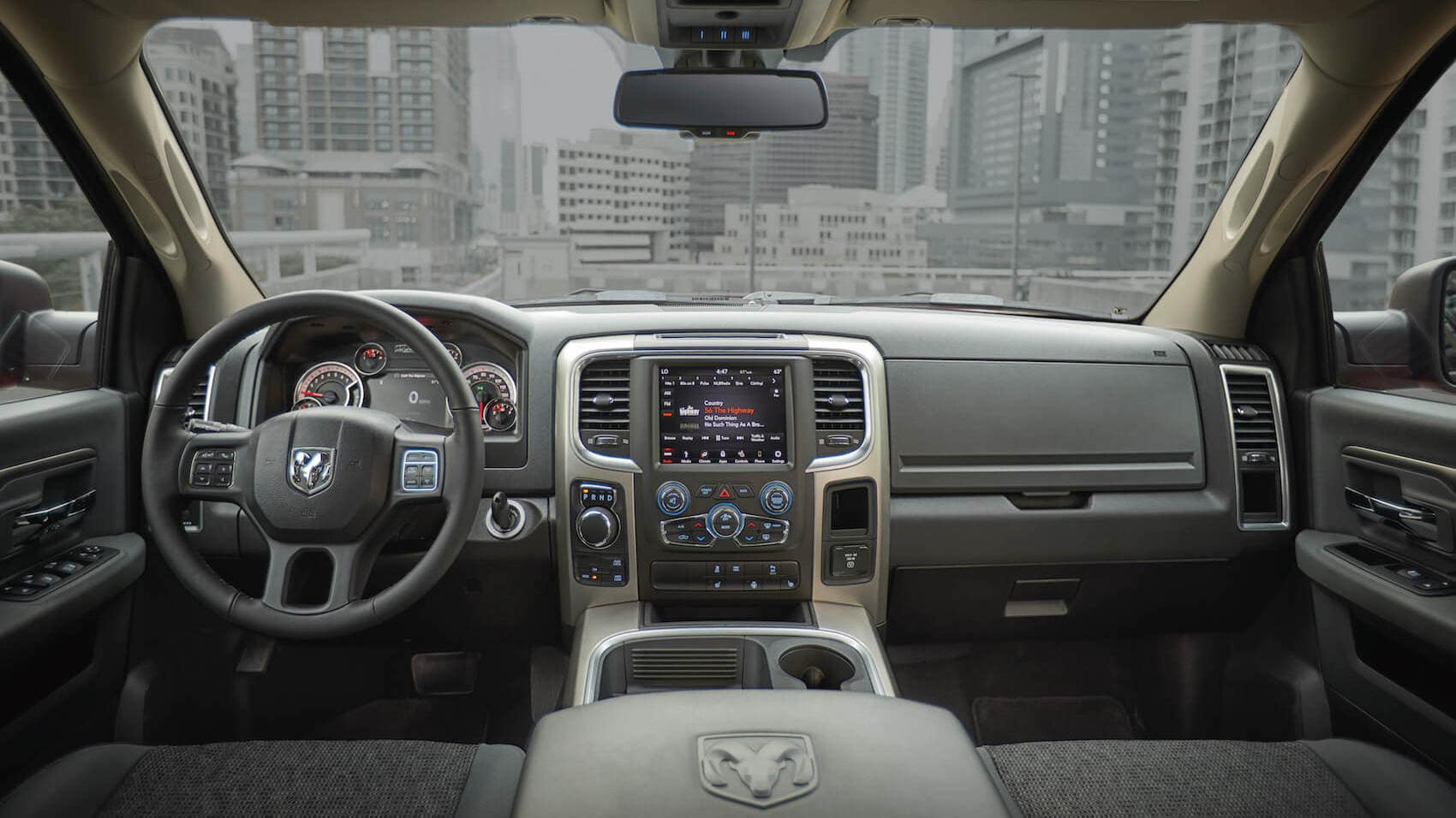 2020 Ram 1500 interior technology Worcester, MA