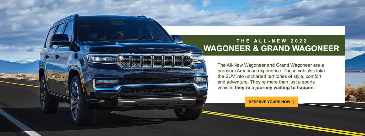 The All-New 2022 Wagoneer & Grand Wagoneer