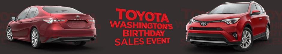Washington's Birthday Sales Event
