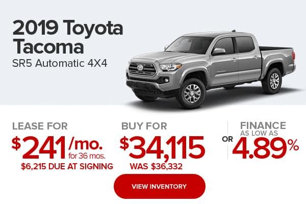 2018 Toyota Tacoma SR5 Double Cab 4x4