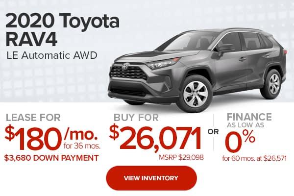 2020 Toyota RAV4 LE Automatic AWD