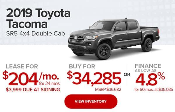 2019 Toyota Tacoma SR5 4x4 Double Cab