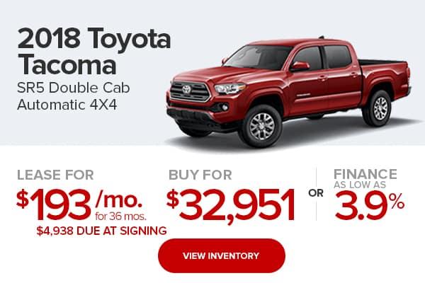 2018 Toyota Tacoma SR5 Double Cab