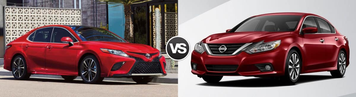 2019 Toyota Camry vs 2019 Nissan Altima