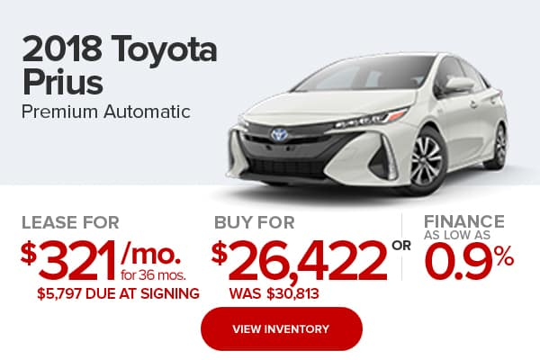 2018 Toyota Prius Prime Premium Harr Toyota