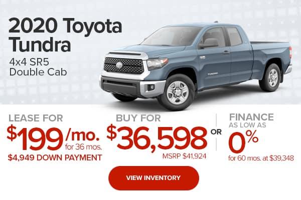 2020 Toyota Tundra SR5 Double Cab 4x4