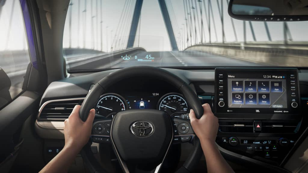 2021 Toyota Camry interior Worcester, MA