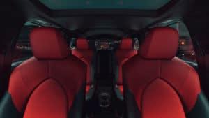 Toyota Highlander interior Worcester MA