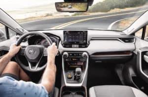 Toyota RAV4 Interior Worcester MA