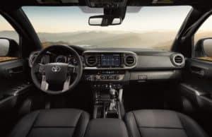 Toyota Tacoma Interior Worcester MA