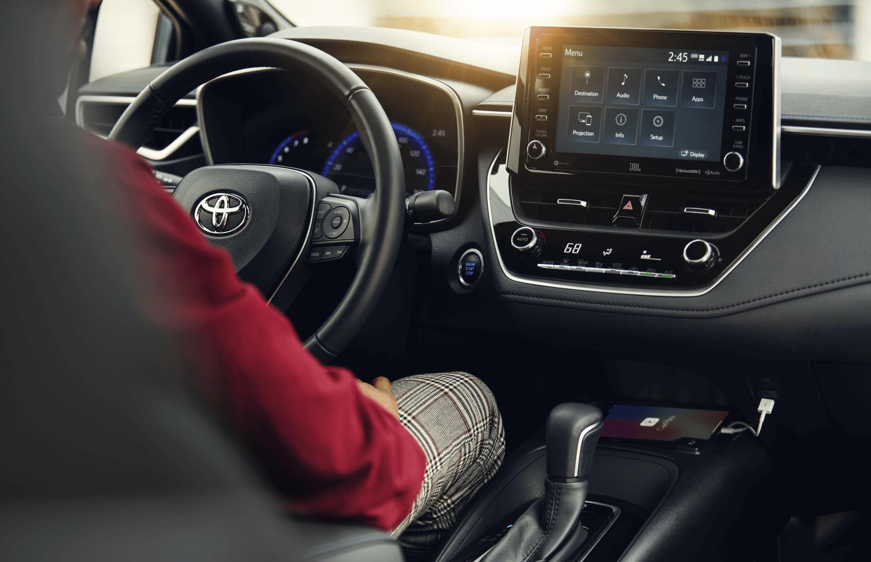 2021 Toyota Corolla Dashboard Interior Tech Harr Toyota