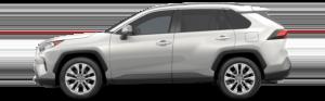 Toyota RAV4 Silver Side View