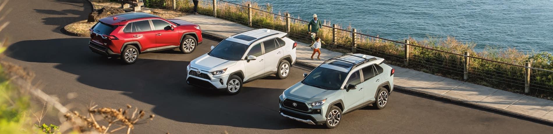 Toyota RAV4 Vehicle Line Up