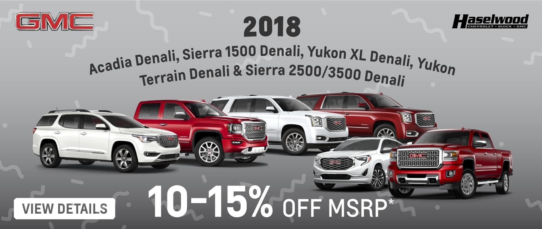 14% Below MSRP on all Silverado 1500 Pickups when you finance with GM Financial* OR 10% Below MSRP on all Silverado 2500HD & 3500HD Pickups when you finance with GM Financial* PLUS 90 Days to first payment when you finance with GM Financial**