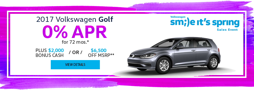Haselwood Volkswagen Golf Special Offer