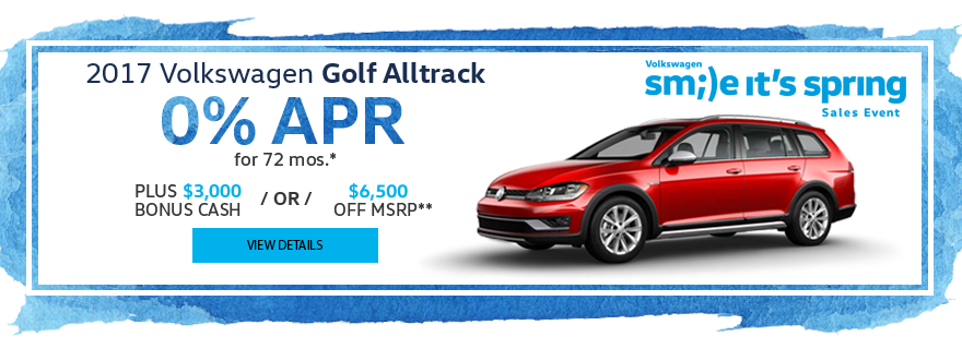 Haselwood VW Golf Alltrack Special Offer