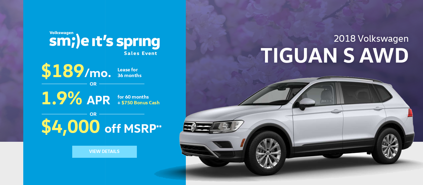 Haselwood VW Tiguan Finance Offer