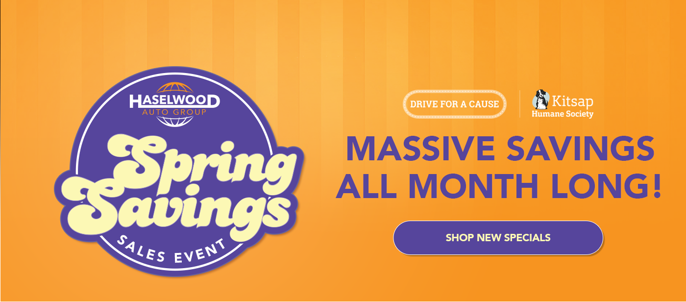 Haselwood Auto Group Spring Sales Event
