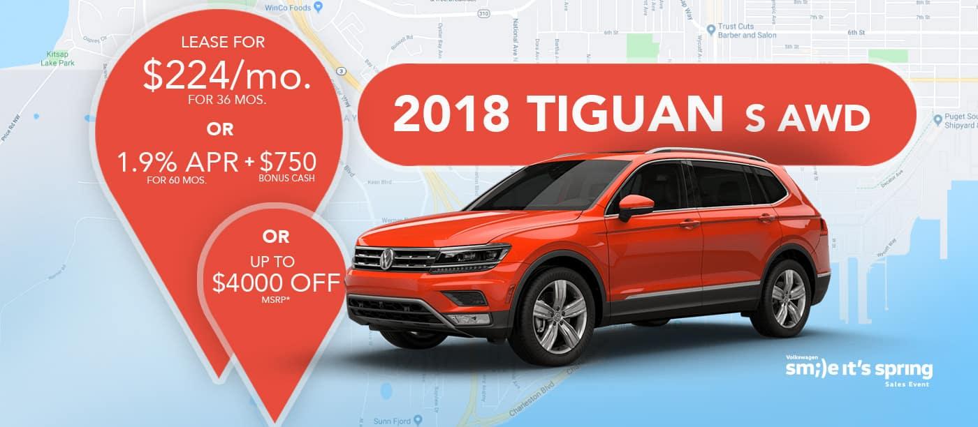 2018 Tiguan S AWD
