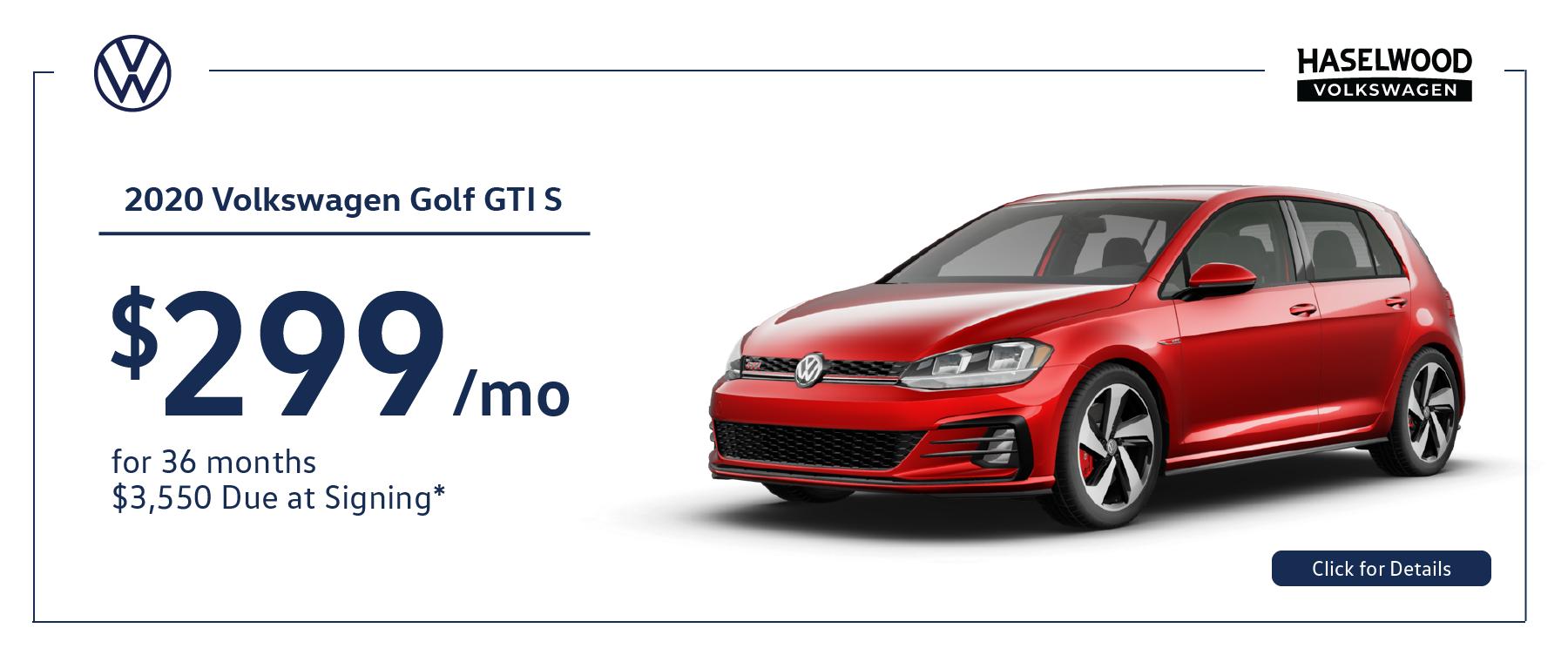 11768 – JAN21 – VW Incentives – Webslides_Golf – Web