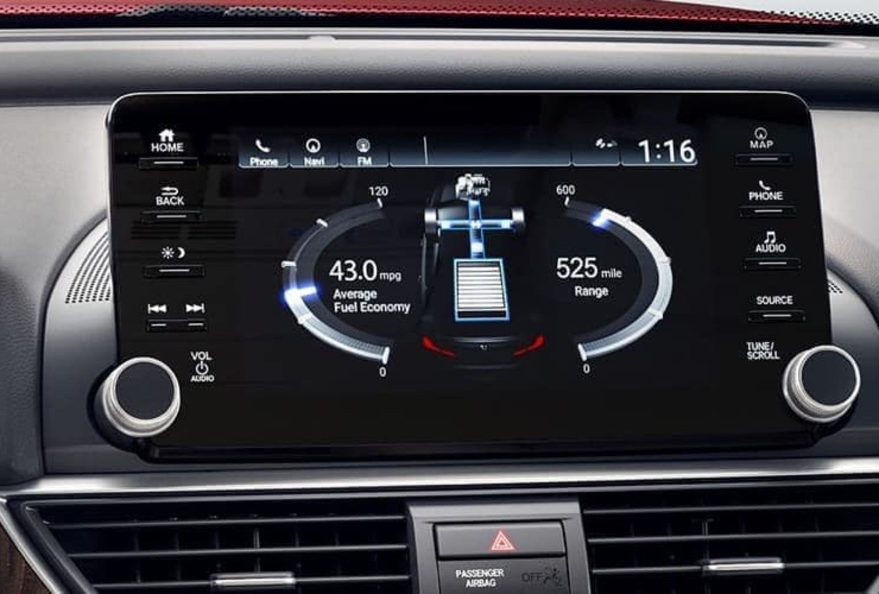 The 2019 Honda Accord comes loaded with the latest technology features