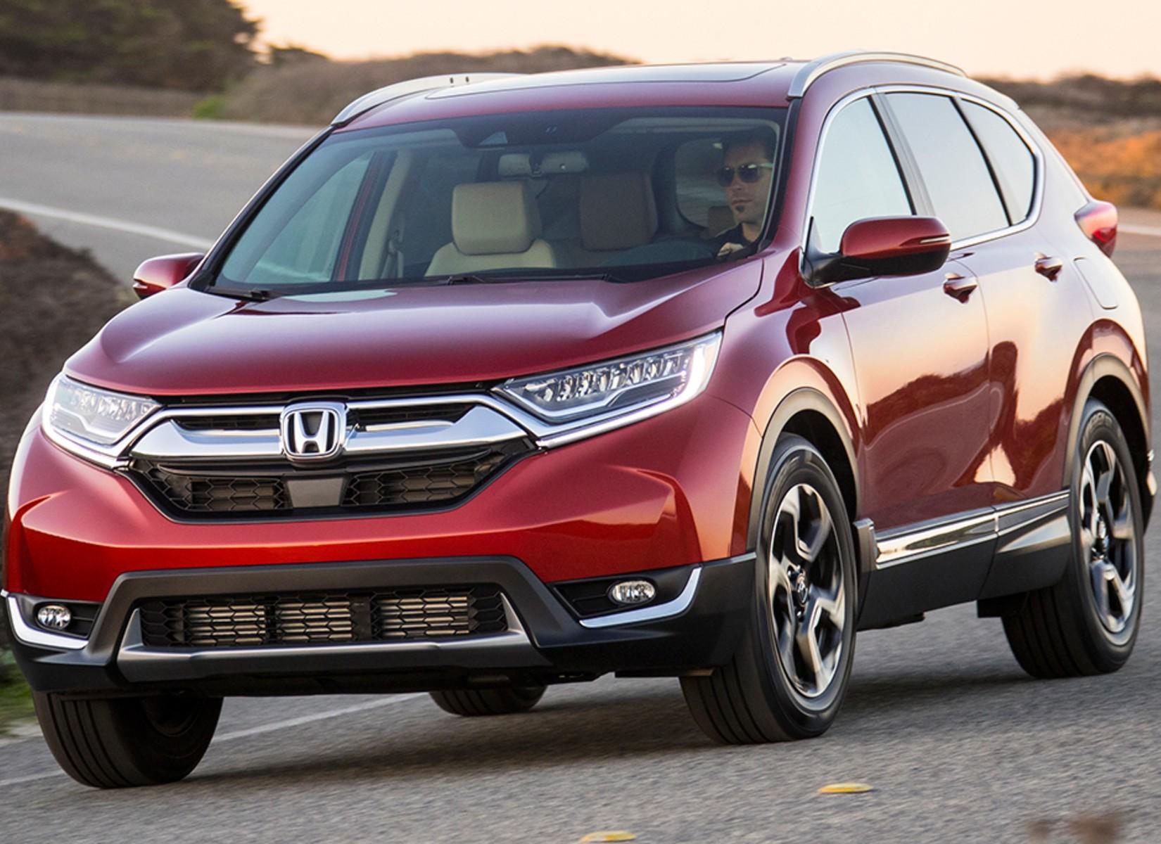 2019 Honda CR-V Front Exterior