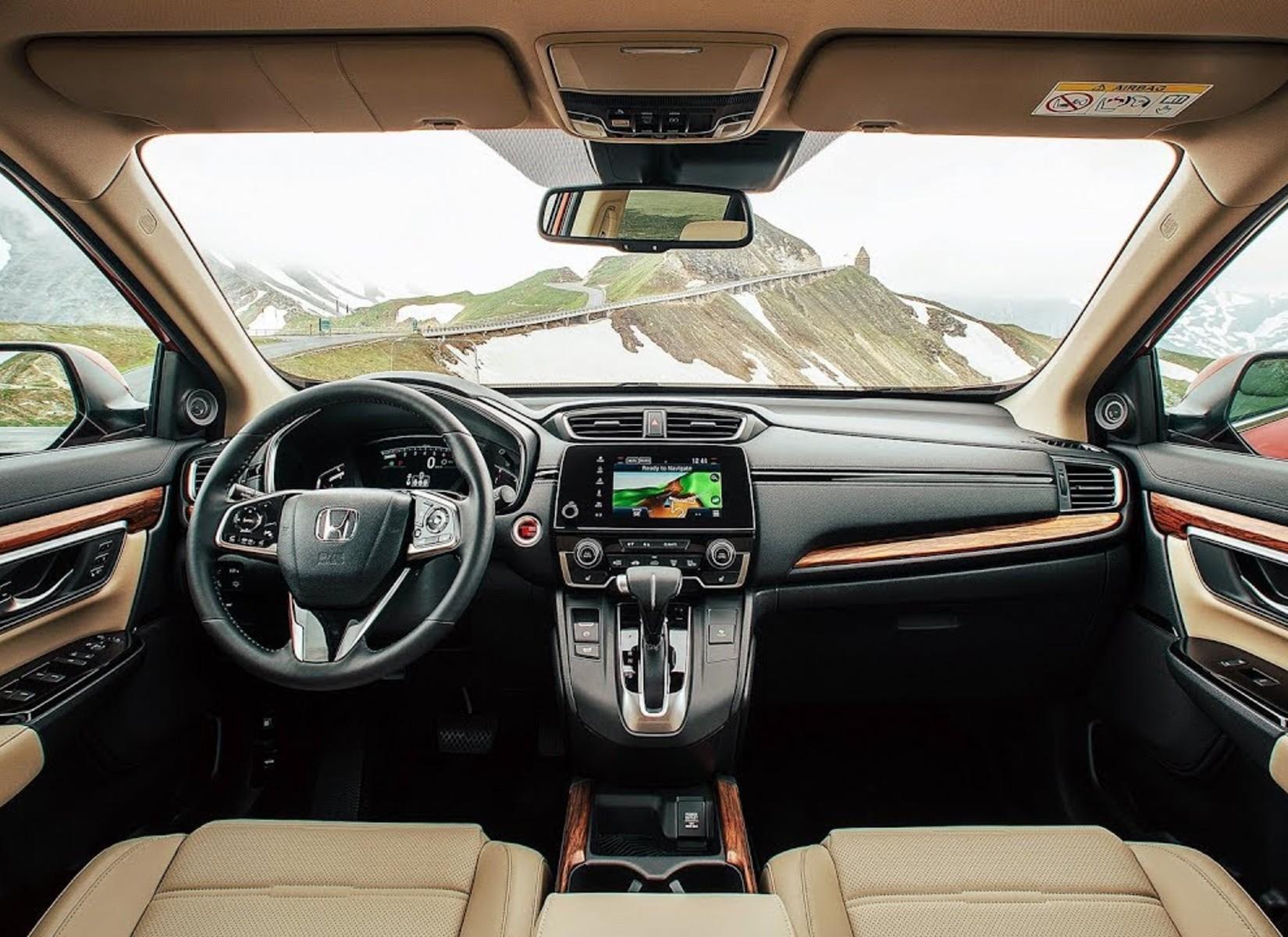 2019 Honda CR-V Interior Technology