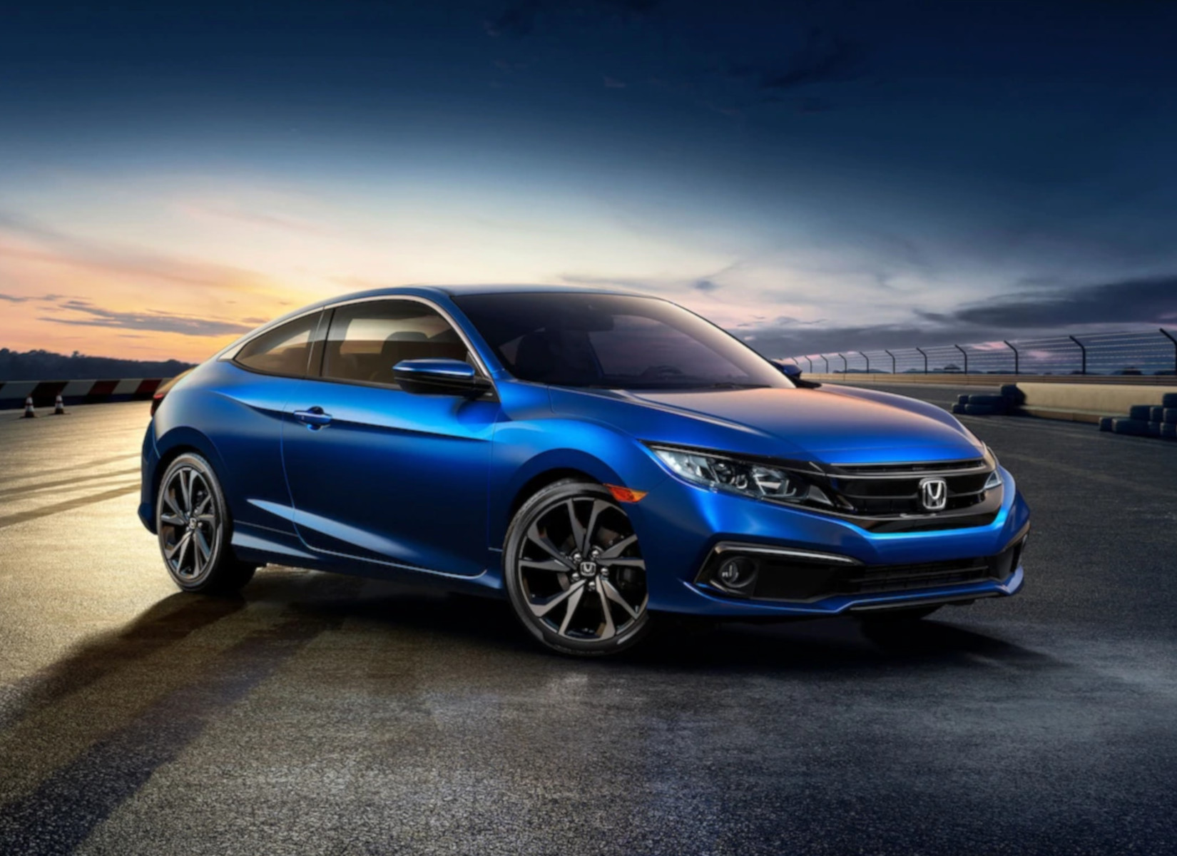 The 2019 Honda Civic, for sale at Headquarter Honda in Clermont, FL