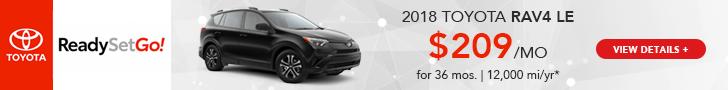 Heartland Toyota Rav4 Lease Offer
