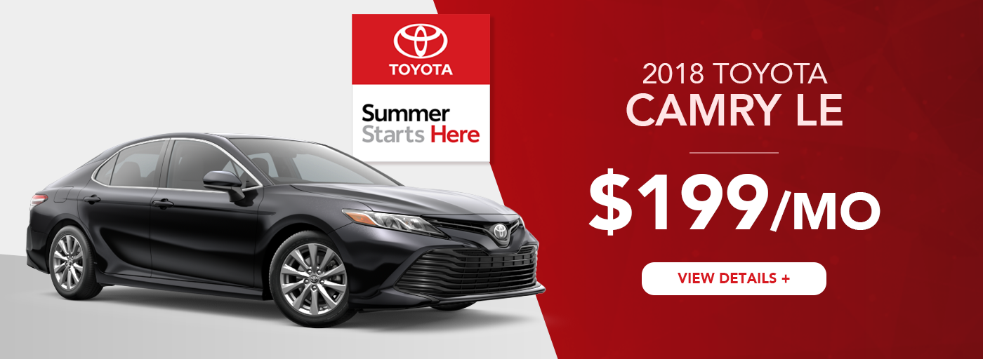 Heartland Toyota Camry Lease Offer