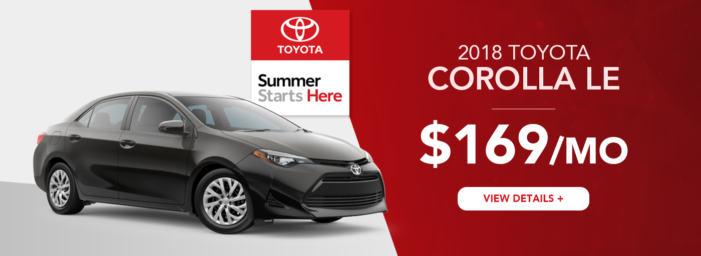 Heartland Toyota Corolla Lease Offer