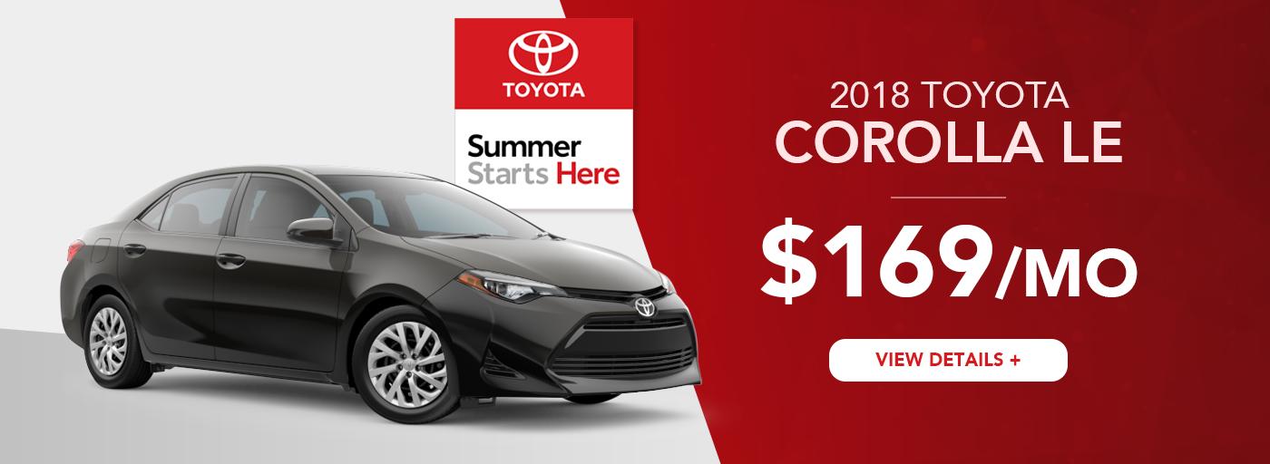 Heartland Toyota Corolla Lease Offer