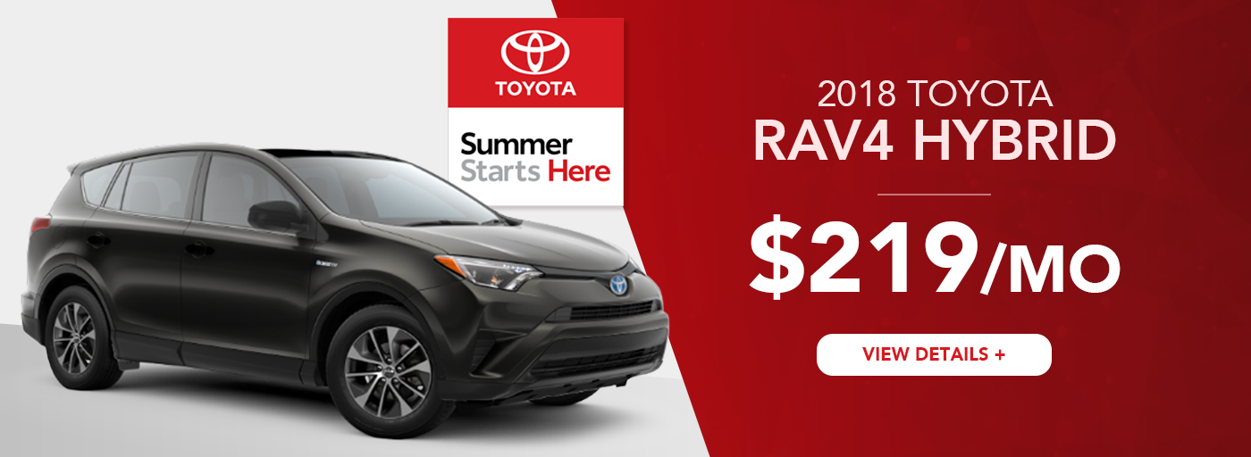 Heartland Toyota Rav4 Lease Offer