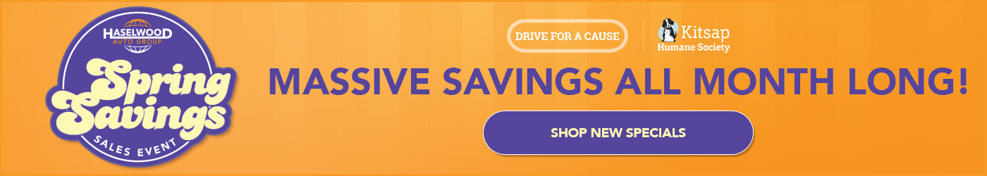 Haselwood Auto Group Spring Savings Sales Event