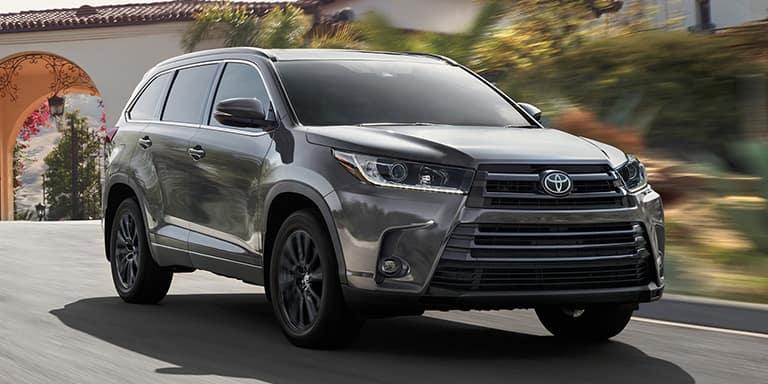 Toyota Highlander Rent A Car