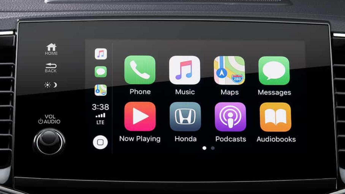 2019 Honda Pilot Display Audio System Apple CarPlay