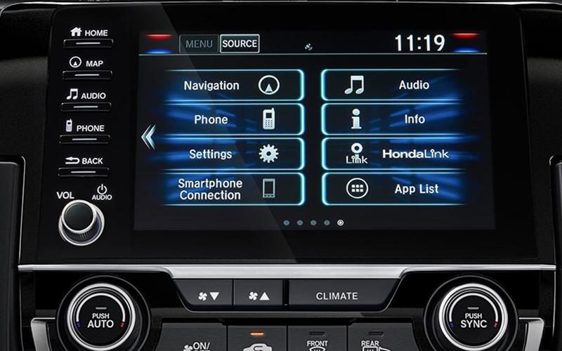 2019 Honda Civic Sedan Display Audio Volume Knob