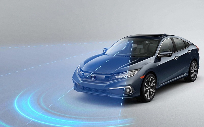2020 Honda Civic Sedan Honda Sensing Safety