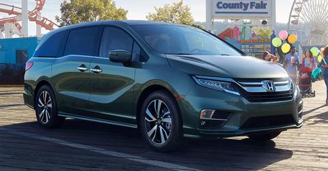 Honda Odyssey Profile