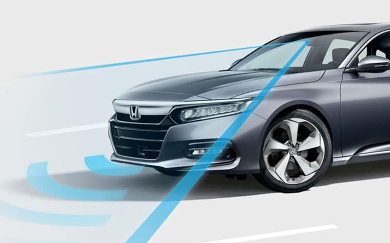 2020 Honda Accord Hybrid Sensing Safety
