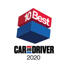 2020 Car and Drivers 10Best Cars list