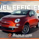 Top fuel efficient cars