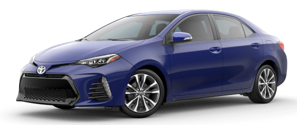 Toyota Corolla SE 6MT Trim Features & Options