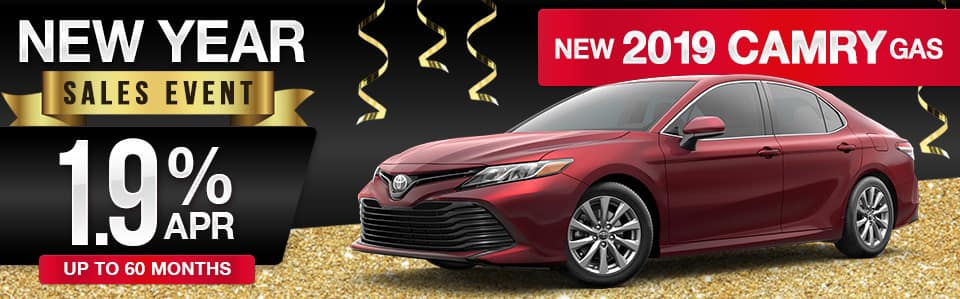 New 2019 Toyota Camry Finance Special