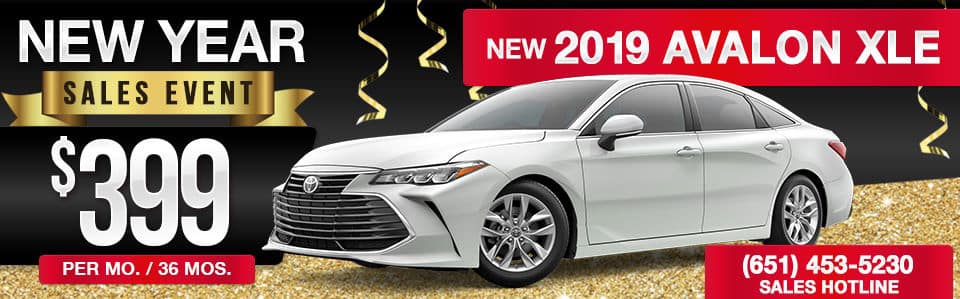 New 2019 Avalon Lease Special