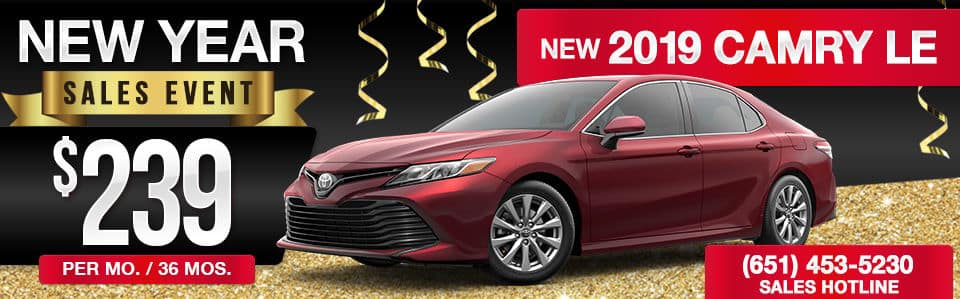 New 2019 Camry Lease Special