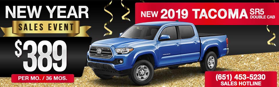 2019 Toyota Tacoma Double Cab Lease Special