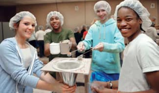 feed my starving children workers